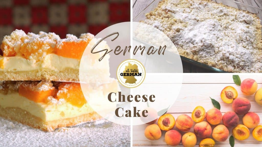 German Cheese Cake Collage