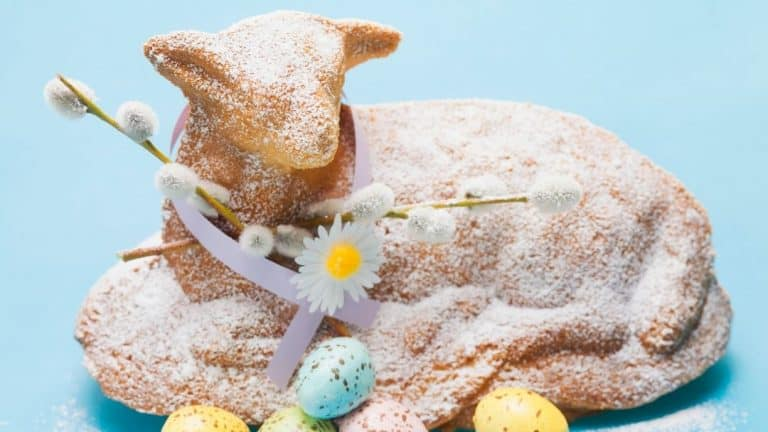 German Easter Lamb Cake