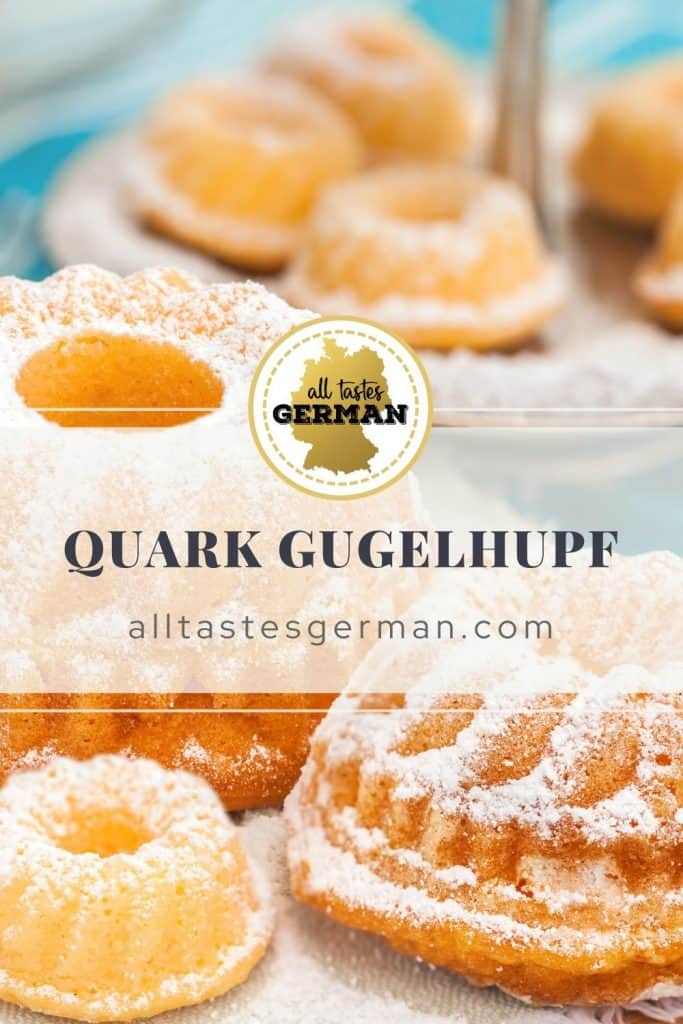 Quark Gugelhupf German Bundt Cake