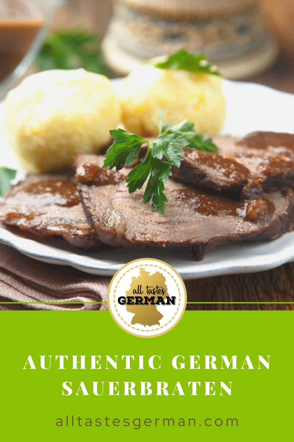 Authentic Sauerbraten Pin