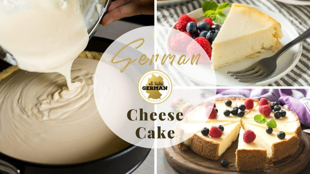 German Cheesecake Collage