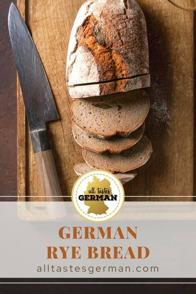German Rye Bread Pin