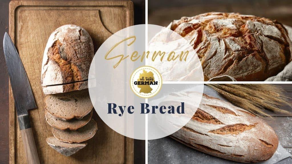 German Rye Bread without Sourdough