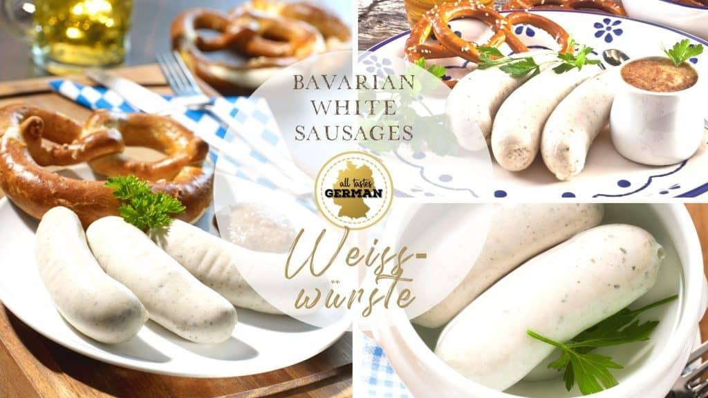 White Sausage Collage