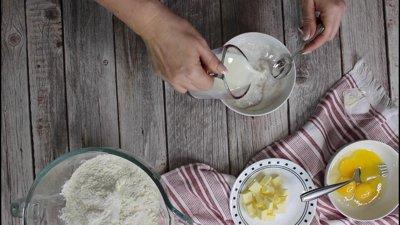 Braided Cinnamon Raisin Bread Recipe Step 2