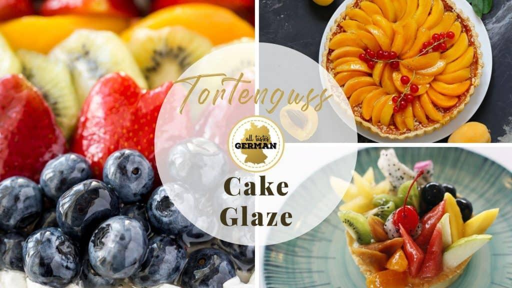 Cake Glaze Collage