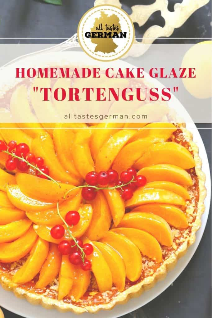 Homemade Glaze for German Flan Cake