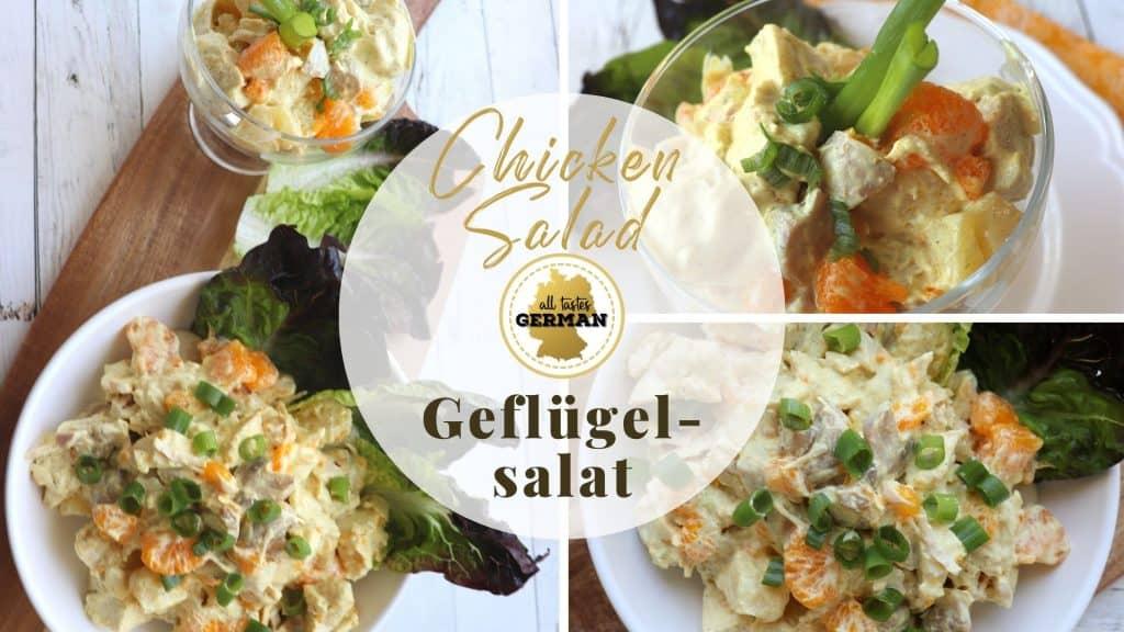 Chicken Salad Collage