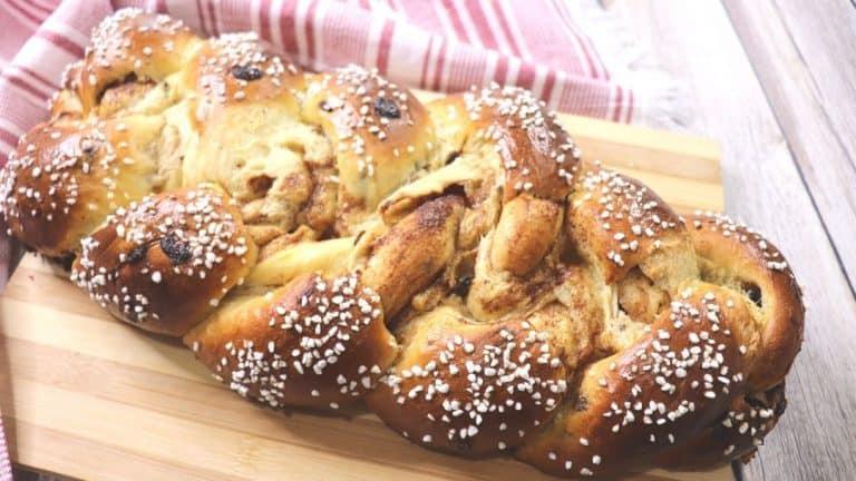 Braided Cinnamon Raisin Bread