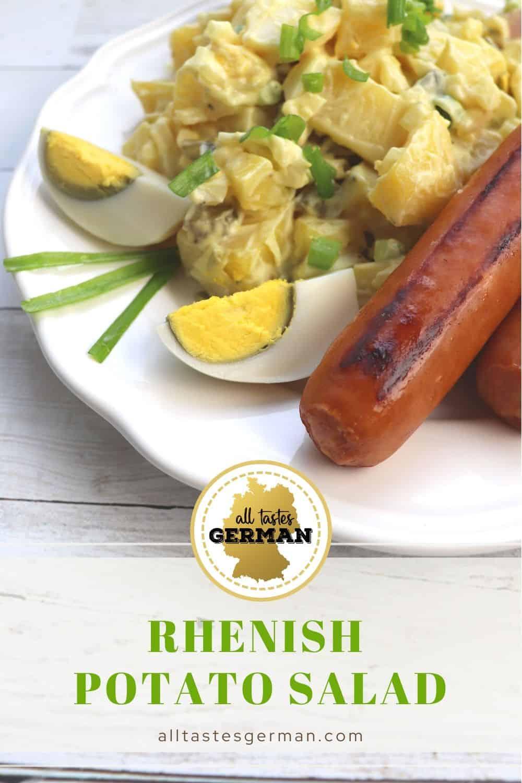 Potato Salad Rhineland Style