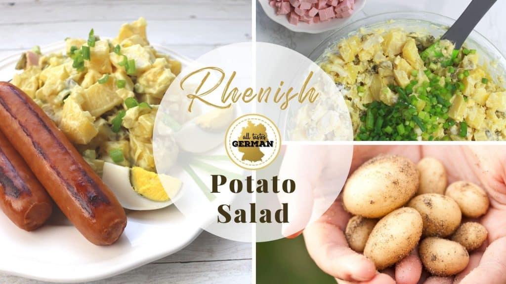 Rhenish Potato Salad CollageRhenish Potato Salad Collage