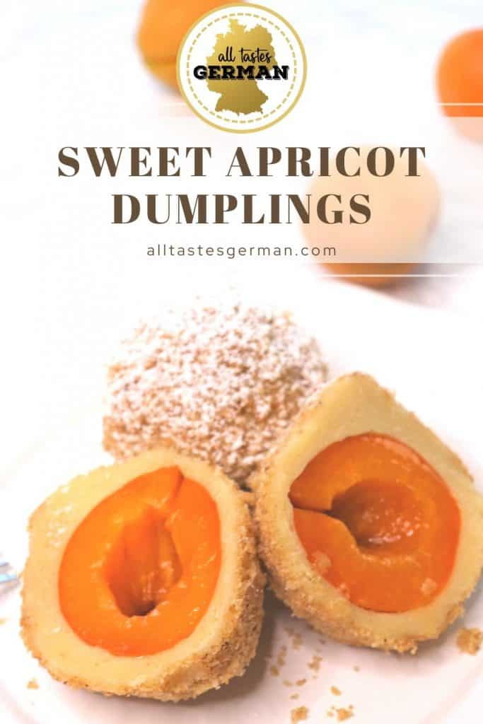 Sweet Dumplings Marillenknödel