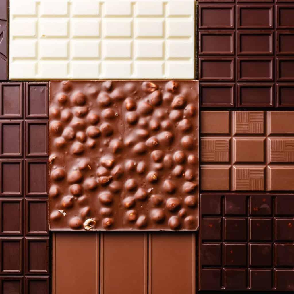 Assortment of chocolate