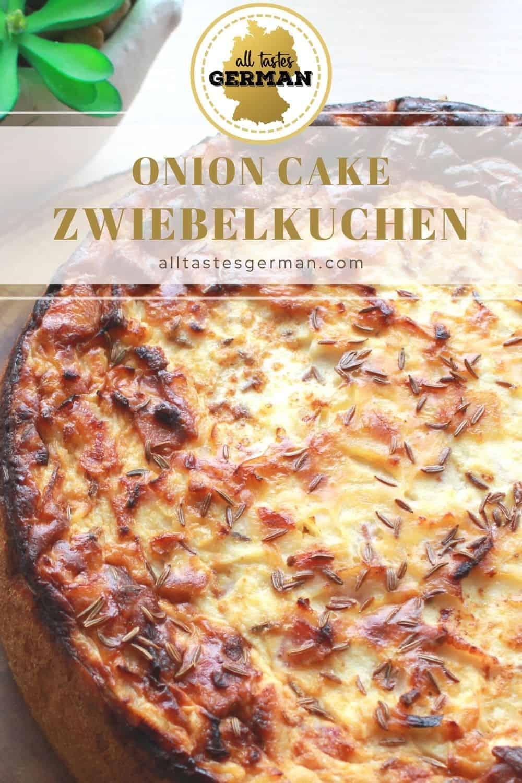 Onion Cake Zwiebelkuchen