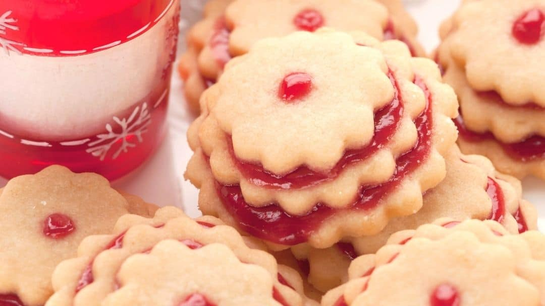 German Jam Cookies