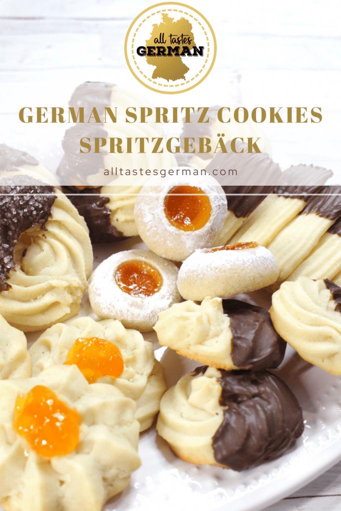 German Spritz Cookies