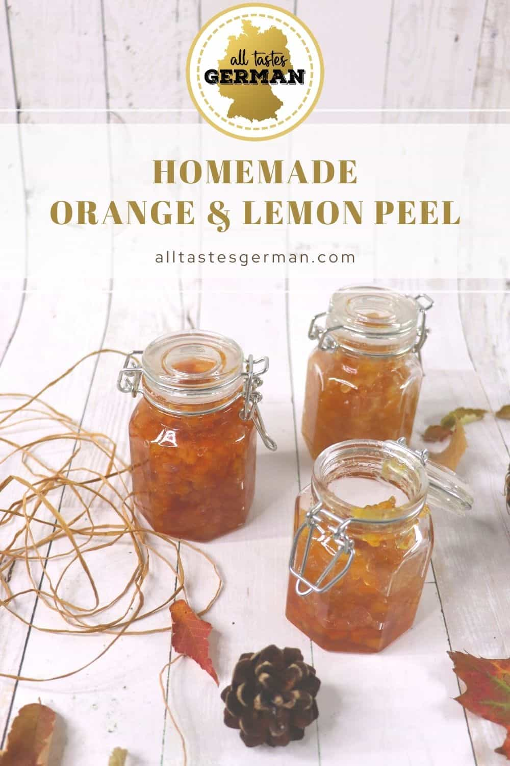 Homemade Orange and Lemon Peel