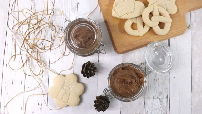 Creamy Speculaas Cookie Spread