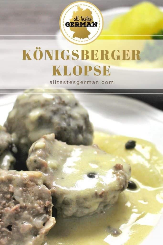 Königsberger Klopse Pin