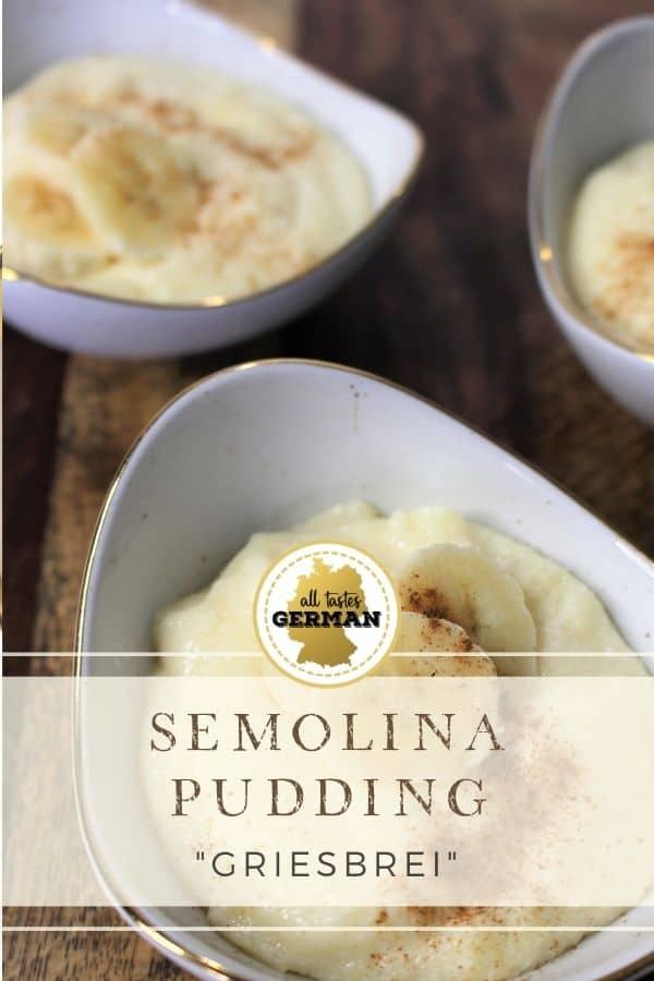German Semolina Pudding