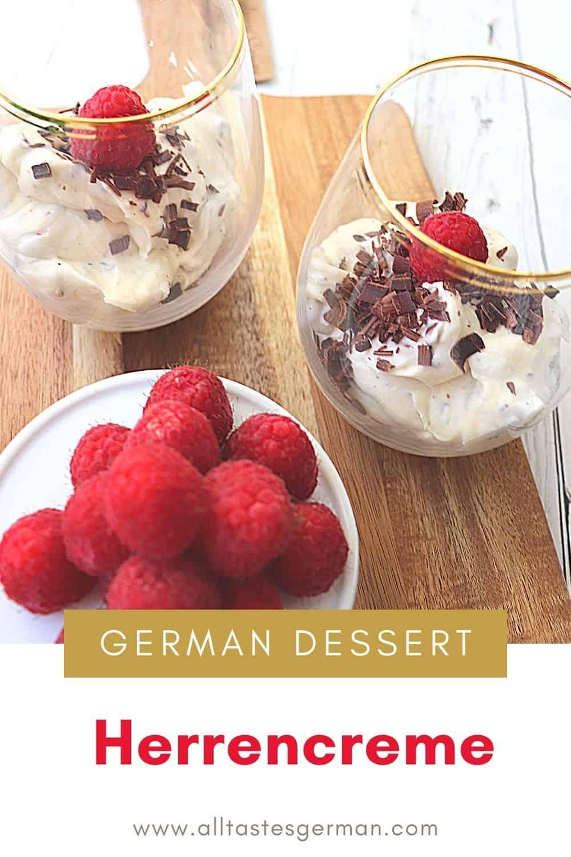 Herrencreme German Dessert