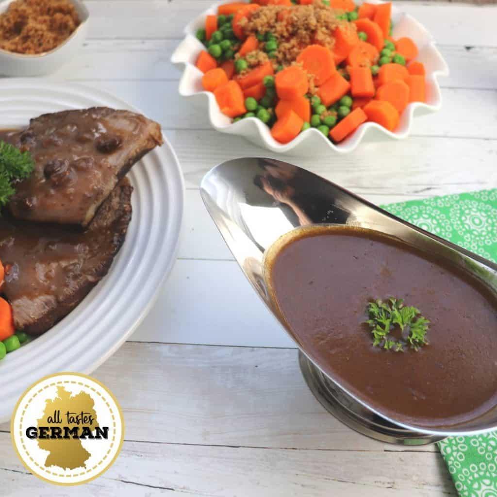 Rhenish Sauerbraten Gravy