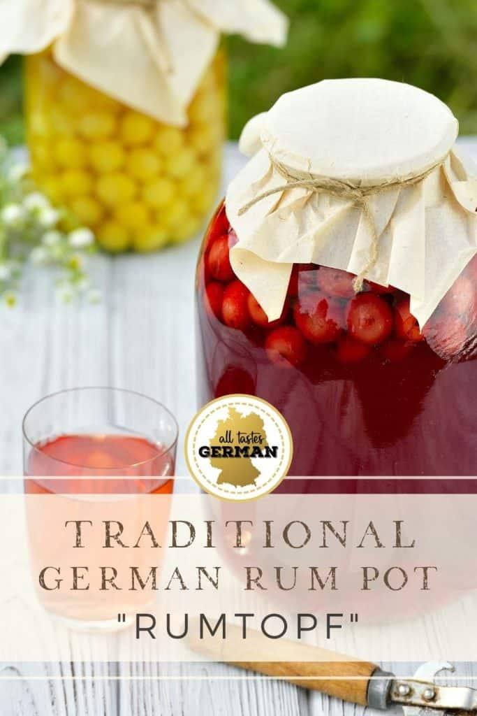 German Rum Pot