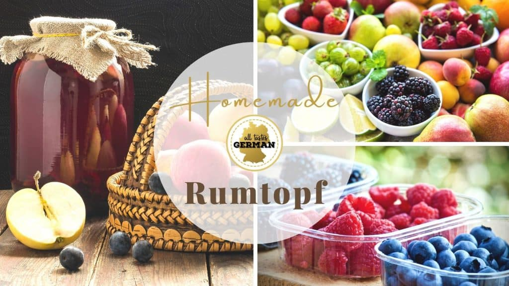 How to make Rumtopf