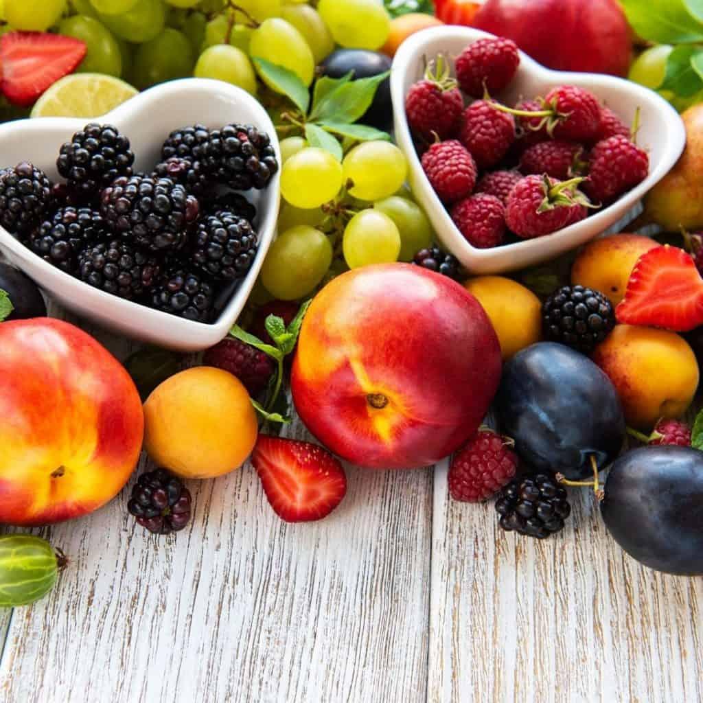 Seasonal Fruit for Rumtopf